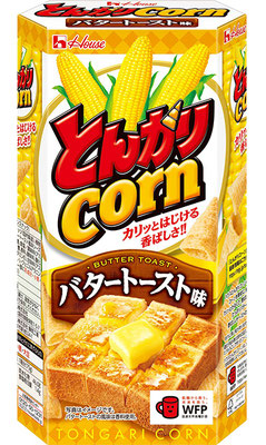 とんがりコーン〈バタートースト味〉