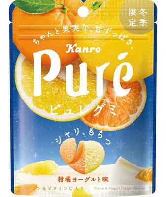 ピュレグミ柑橘ヨーグルト