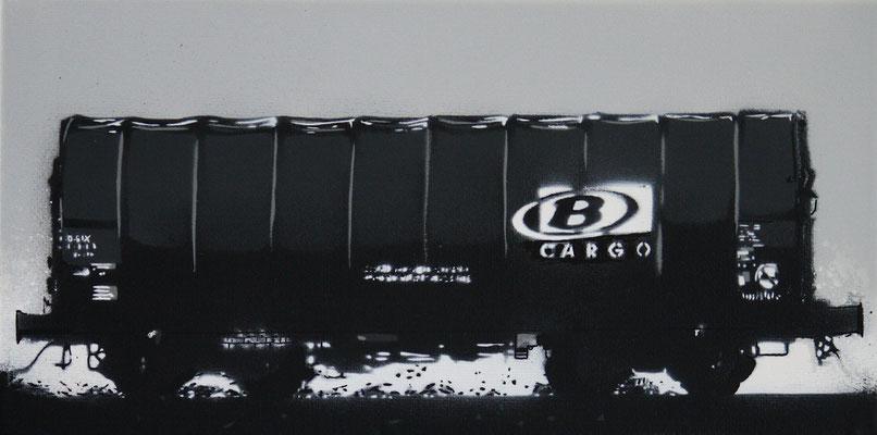 Belgium SNCB B-Cargo Shimmns Freight Car