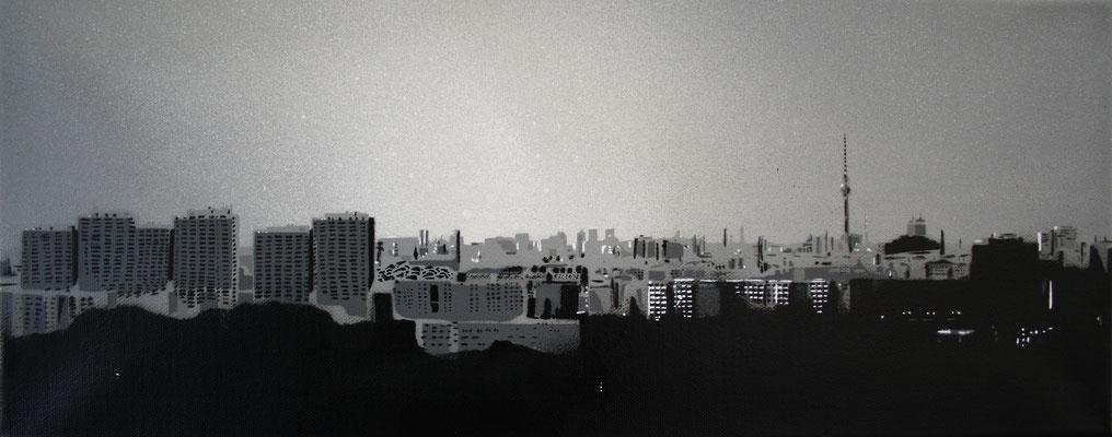 Berlin Panorama, Leinwand auf Keilrahmen