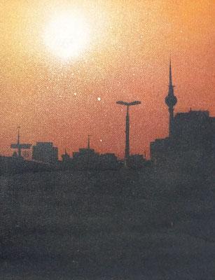 Berlin II, Leinwand