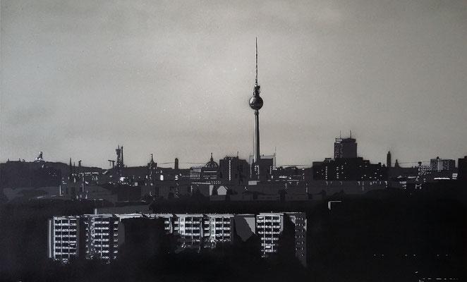 Berlin, 60x80 cm, Leinwand auf Keilrahmen