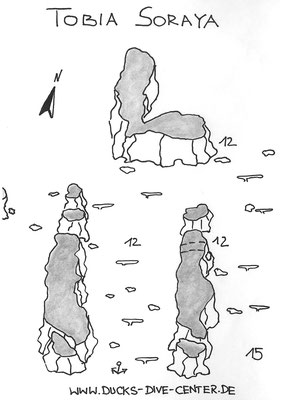 Tobia Soraya, Safaga, Sandflächen, Höhle, Kanäle