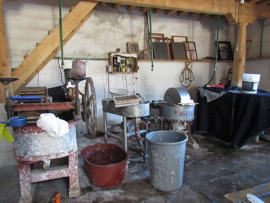 Piles holandaise, pour la fabrication de la pâte de papier