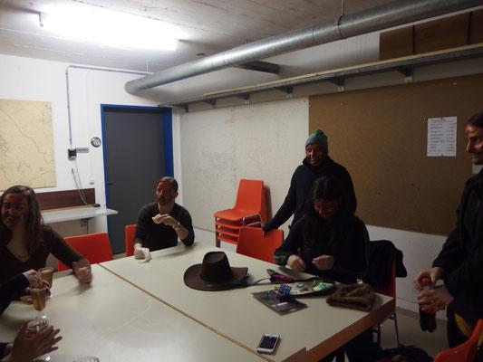 Vorbereitung für Fislisbach Vollgas