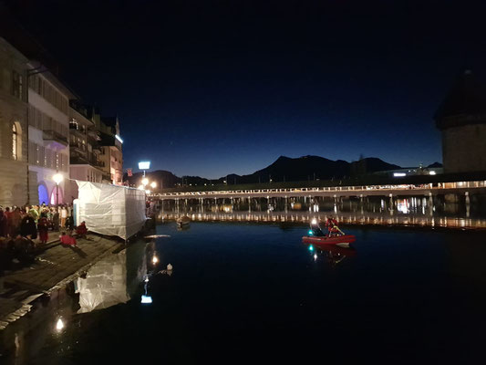 Luzern Sonnenaufgang