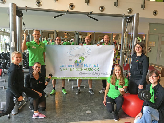 ZAP Fitness-Team im Racket Center Nußloch