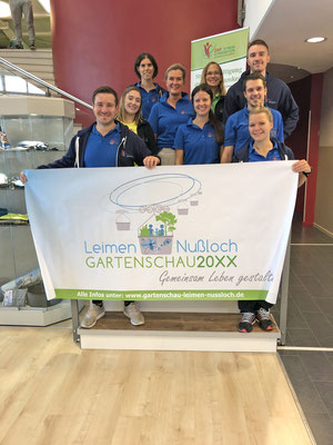 Team der ZAP Physiotherapie im Racket Center Nußloch