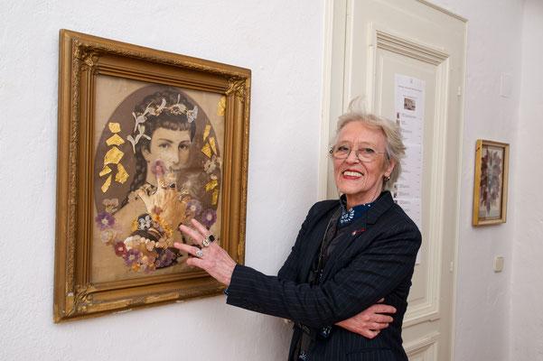 Ausstellung im Schloss Ebenau, Burgis Paier, 2019 © Dieter Arbeiter