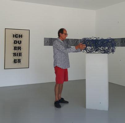 Manfred Boeckelmann, Europäische Außengrenze, 2018, © Galerie Walker