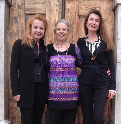 Gudrun Kampl, Judith Walker, Irene Andessner ©Galerie Walker und bei den Künstlern