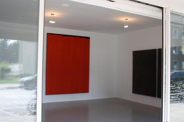 Einblick in die Ausstellung im Kunstraum Walker in Klagenfurt, 2017 ©Galerie Walker
