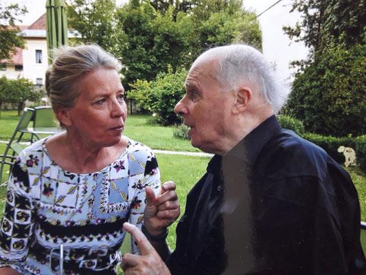 Judith Walker und Bernard Aubertin ©Galerie Walker