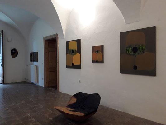 Ausstellung  im Schloss Ebenau, Herbst 2019 © Galerie Walker