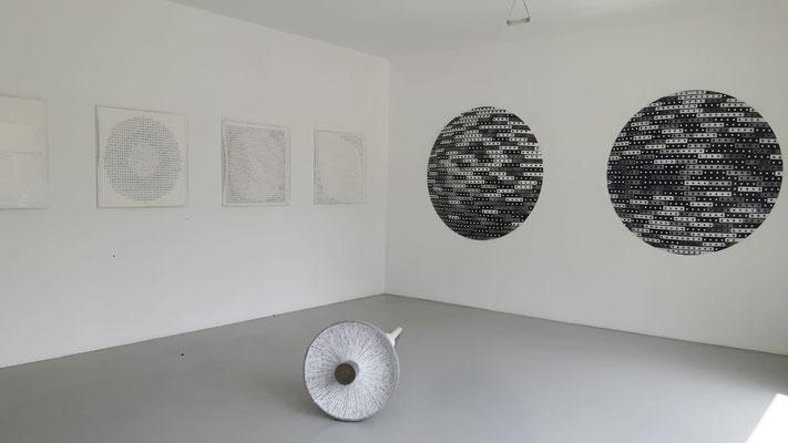 Ausstellung im Kunstraum Walker in Klagenfurt, Michael Kos, 'Runde Sache', 2018 ©Galerie Walker