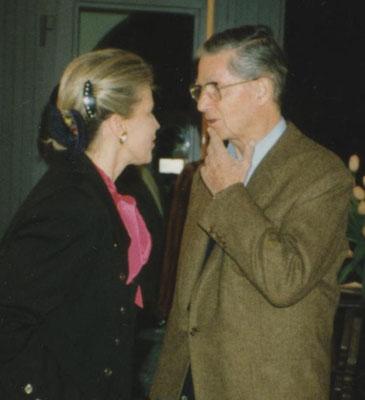 Judith Walker und Hans Staudacher © Galerie Walker und beim Künstler