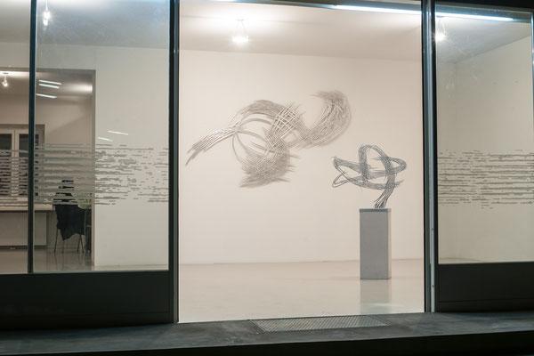 Barbara Szüts im Kunstraum Walker in Klagenfurt ©bei der Künstlerin und Galerie Walker
