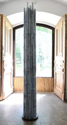 Pino Castagna, Bamboo, Glasskulptur aus Murano, © beim Nachlass des Künstlers