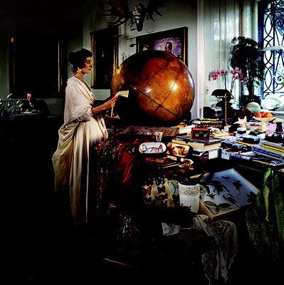 Irene Andessner, I.A.M. Ida-Artemis-Merian, 2007-2010, Maria Sibylla Merian, #01, NHM, Leuchtkasten, 80 x 80 cm, 2007 ©Andessner