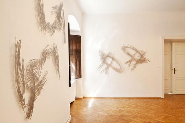 Barbara Szüts im Schloss Ebenau ©bei der Künstlerin und Galerie Walker