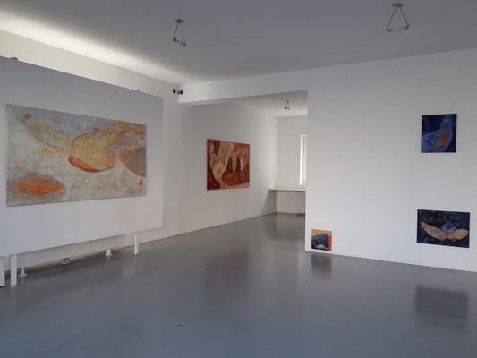 Arno Popotnig im Kunstraum Walker in Klagenfurt, 2019 ©Galerie Walker