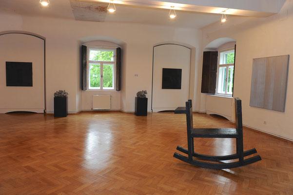 Ausstellung im Schloss Ebenau, Tone Fink, 2012 ©Galerie Walker