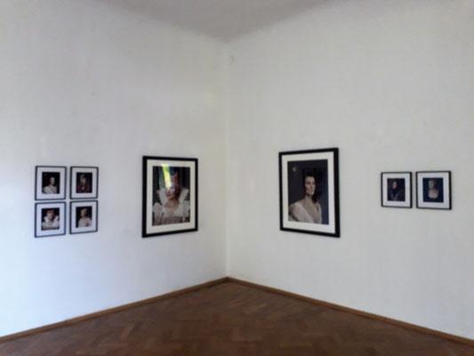 Irene Andessner, Donne Illustri, Venedig auf Reisen, Schloss Ebenau 2021, ©Andessner