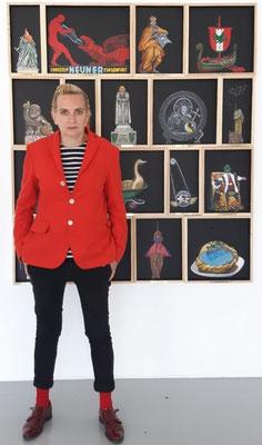 Deborah Sengl, Minimundus (c) Galerie Walker