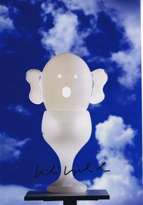 Kiki Kogelnik, aus der Serie Balloon Heads, Spirit Head, 1996,  54x26 ©Galerie Walker, Kiki Kogelnik Foundation