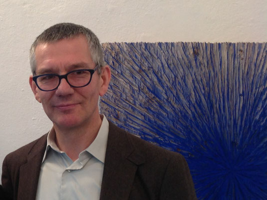 Alfred Haberpointner, Ausstellung im Schloss Ebenau, 2017 ©Galerie Walker