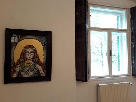 Mari Otberg im Schloss Ebenau, 2019 ©bei der Künstlerin und Galerie Walker