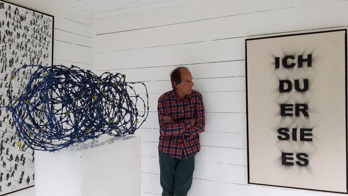 Manfred Bockelmann, Europaische Außengrenze - ohne Worte © Manfred Bockelmann, Galerie Walker