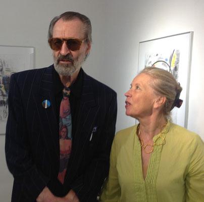 Reimo Wukounig und Judith Walker ©Galerie Walker und beim Künstler