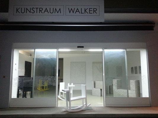 Ausstellung im Kunstraum Walker in Klagenfurt, Tone Fink, 2014 ©Galerie Walker