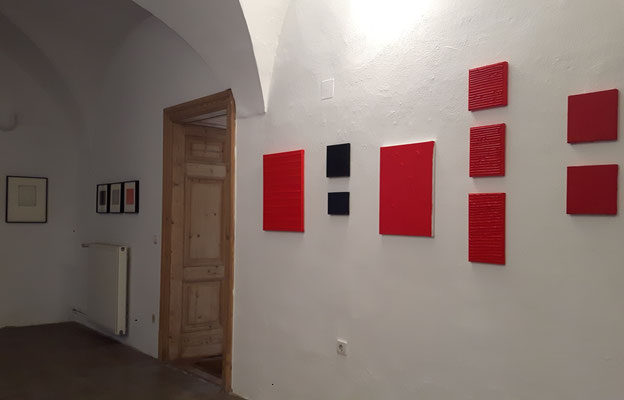 Schloss Ebenau, Bernard Aubertin, Sommer 2018  © Galerie Walker