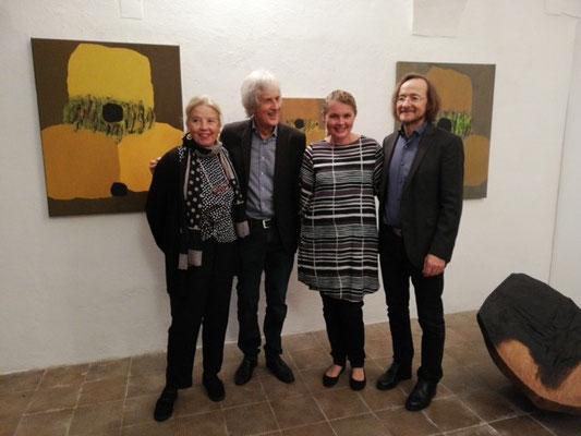 Judith Walker, Gustav Janus, Carolin Walker, Rainer Wulz ©Galerie Walker