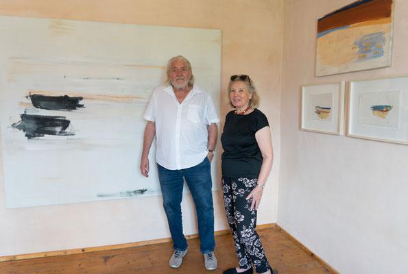 Peter Krawagna und Judith Walker ©beim Künstler und Galerie Walker