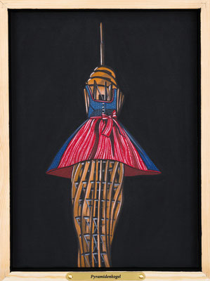 Deborah Sengl, Minimundus, Pyramidenkogel © Deborah Sengl