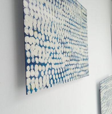 Claus Prokop im Kunstraum Walker in Klagenfurt, 2019 © Galerie Walker