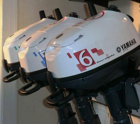 Handliche Außenbordmotoren von 4 bis 6 PS