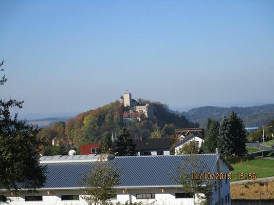 Blick nach Falkenstein von unserer Sonntags-Exkursion