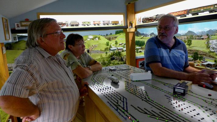 Axel und Gundi Exner (Eifel, LK Bittburg) und G. Arnold