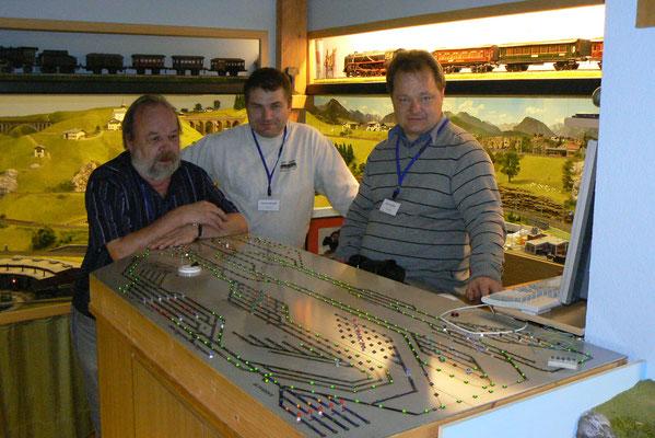 Delef Seidl, Rudolf Brandl und WDP-Betatester Dirk Streuber