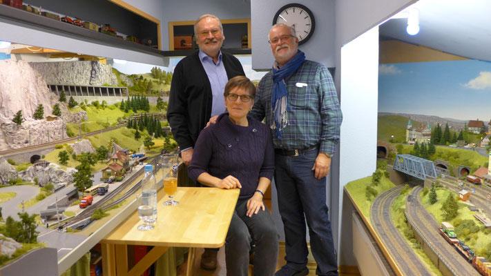 Gerhard Arnold sowie Helga und Michael Skoczylas aus Stolberg bei Aachen