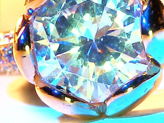 Mikroskop , diamant