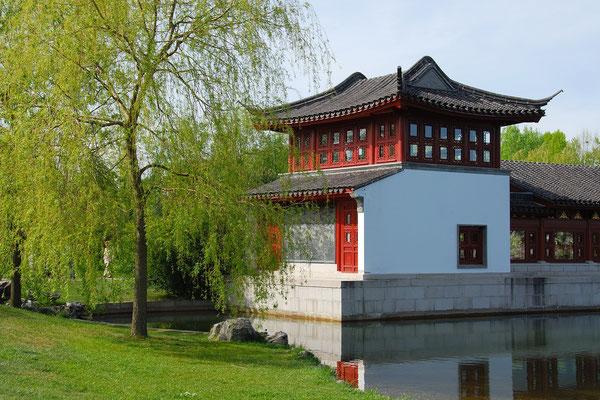 Teehaus im Chinesischen Garten