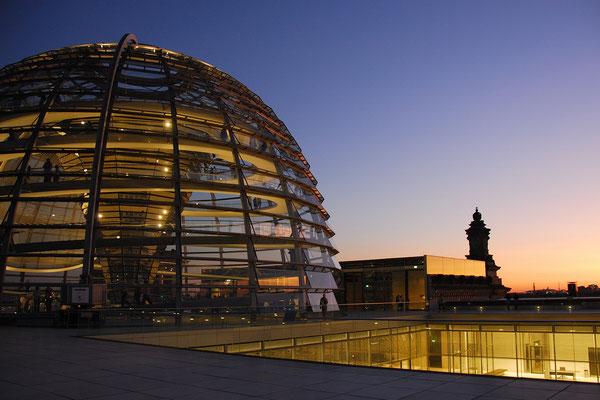 Kuppel auf dem Reichstagsgebäude