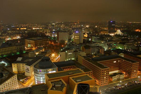 Blick vom Hochhaus am Potsdamer Platz