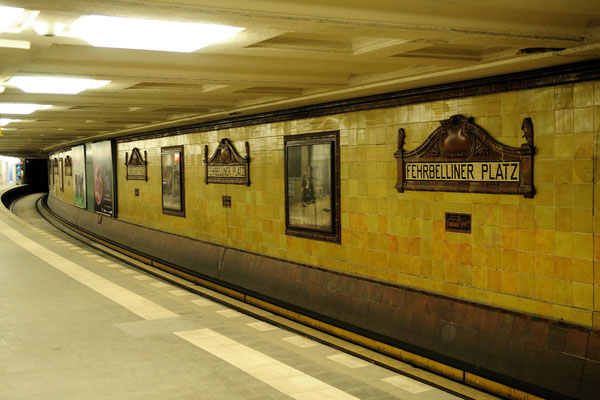 U-Bahnhof Fehrbelliner Platz