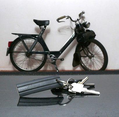 9,00 € VéloSoleXReifenSchlüsselAnhänger Ein SoleXFahrer wird seinen Schlüssel ab jetzt nicht mehr lange suchen.